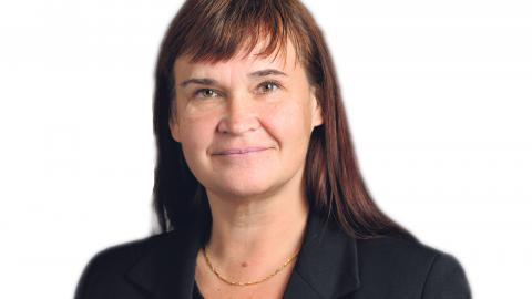 Annika Lillemets, MP.   Bild: Henrik Montgomery/TT