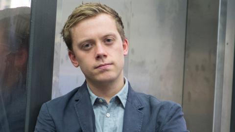 """Owen Jones är en brittisk debattör och aktivist och författare till boken """"Chavs – föraktet för arbetarklassen"""". Bild: Fredrik Sandberg/TT"""