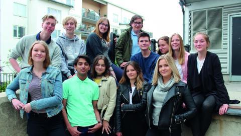 Plan International Sveriges ungdomsråd vill uppmärksamma mensen i och med FN:s internationella flickdag som var i går. Bild: Privat