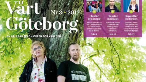 Vårt Göteborg nummer 3 2017.