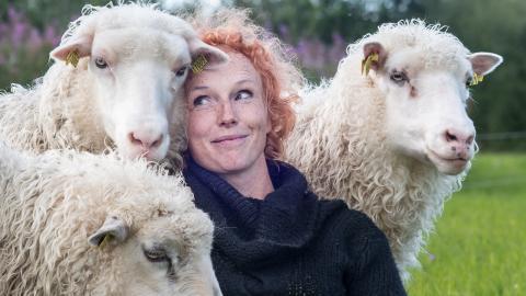 Anne Hemmerling är en av de 40-tal människor som porträtteras i utställningen. Bild: Katarina Norström