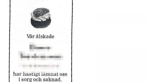 År 2000 fanns ungefär 5 000 symboler att använda i dödsannonser. I dag är de bortåt 25 000. – Det tillkommer ungefär två nya varje dag, säger Ulf Lerneus på Sveriges begravningsbyråers förbund. Foto: TT