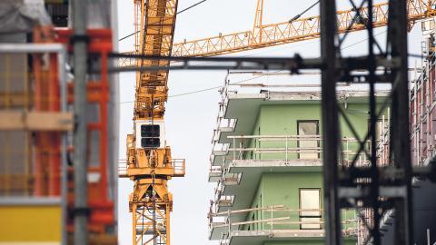 Göteborg får 100 miljoner till att bygga bostäder. Foto: Christine Olsson/TT