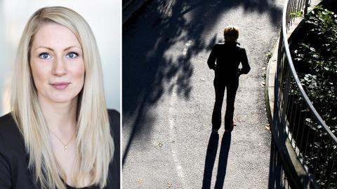 Åsa Strid, enhetschef på Brå. Bild: Lieselotte van der Meijs / Jessica Gow/TT