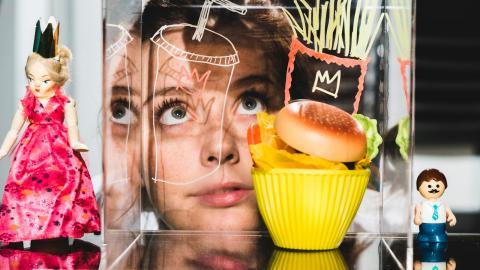 """Liksom flera tidigare produktioner baseras """"Burger princess"""" nämligen på en traditionell folksaga, i det här fallet """"Prinsessan på ärten"""".   Bild: Alexander Tenghamn"""
