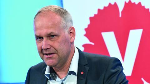 Annicka Burman (V) skriver ett öppet brev till partiledaren Jonas Sjöstedt. Bild: Claudio Bresciani/TT