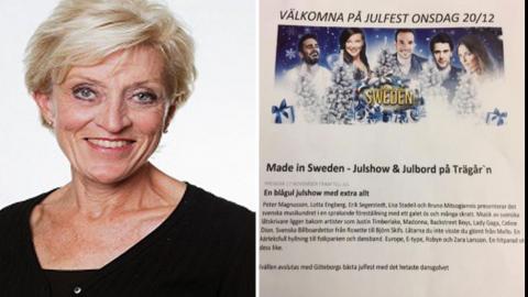 Hemtjänstpersonalen i Askim-Frölunda-Högsbo bjöds först in till ett kombinerat firande av julen och fina resultat i en undersökning. Men inbjudan drogs tillbaka, ett formellt beslut var inte fattat, uppger stadsdelsdirektören Ingrid Larsson. Foto: Göteborgs Stad och Faksimil:Facebook.