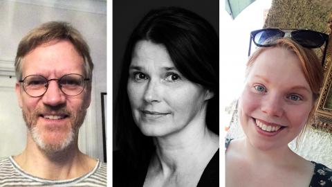 Christer Simfors, Aja Rodas och Louse Hartvig är några av de som valt att klimatkompensera med ETC.