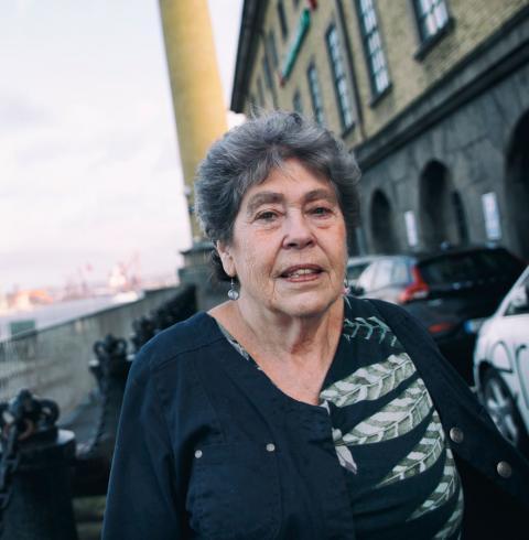 Lisa Granér flydde från Österrike 1939 och är den första att nå Sverige via vattnet bland de som medverkar i Sjöfartsmuseets nya utställning.  Bild: Eleonor Broman