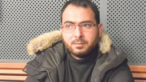 Luai Shaban är en av de statslösa palestinier vars utvisning inte kan verkställas. Foto: Pernilla Stammler Jaliff