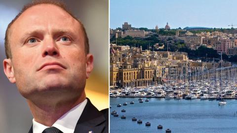 Efter Panamadokumenten 2016 riktades misstankar mot Malta och det ställdes avgångskrav mot premiärminister Joseph Muscat. Nu har ön och dess generösa skattesystem hamnat i rampljuset igen.  Bild: Wiktor Nummelin/TT, Pixabay