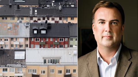 """""""Det måste finnas plats även för vanliga hyresbostäder inom den gemensamma välfärden"""", säger Johan Mirtorp, förbunds-jurist på Hyresgästföreningen. Bild: Fredrik Sandberg/TT/Press"""