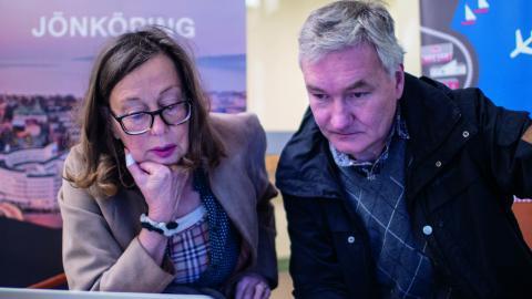 Båda MP-språkrören i Jönköpings kommun, Margareta Sylvan och Mats Weidman, väljer att lämna politiken inför valet nästa år. Bild: Daniel Johansson