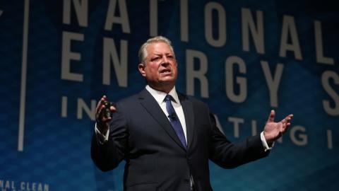 """Dokumentären """"En obekväm uppföljare"""" slarvar bort Al Gores kunnande, tycker Rasmus Landström. Bild: Mikayla Whitmore/AP/TT"""
