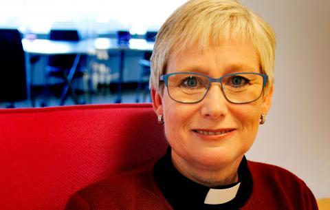 Susanne Rappman blir biskop i Göteborgs stift i mars och bryter därmed den totala mansdominansen på posten. Foto: Annelie Moran