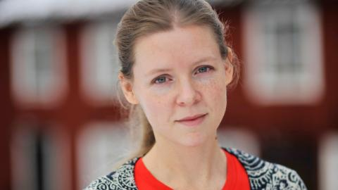 Matilda Hald är ordförande i Svenska Burmakommittén för mänskliga rättigheter och arbetar på Dag Hammarskjöld foundation i Uppsala.  Bild: Malin Beeck