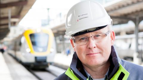 Bo Larsson, Trafikverket. Foto: Kasper Dudzik/Trafikverket