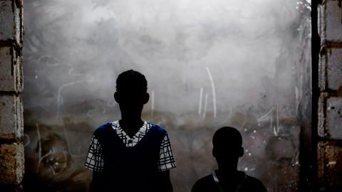 Mauritaniens första fällande dom kom 2011, men ärendet överklagades och är nu uppe i Afrikanska Unionens domstol. Målsmän är bröderna Said och Yarg Ould Salem, nu 16 och 13 år, som hölls som slavar hos en familj. Bild: Michael Hylton/Anti-Slavery International