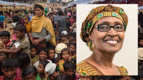 """""""Jag är arg för att det internationella samfundet har misslyckats med att hitta en permanent lösning på rohingyernas lidande,""""  skriver dagens debattör. Bild: Dar Yasin/AP/TT"""