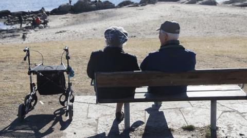 Skatten för pensionärer kommer att sänkas för 75 procent av landets pensionärer som ett nästa steg mot att helt ta bort klyftan mellan skatt på arbete och pension 2020.  Bild: Berit Roald/NTB scanpix/TT