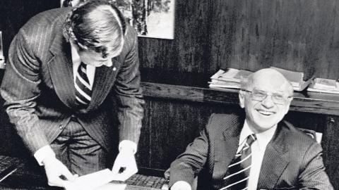 Milton Friedman brukar räknas till de nyliberala ekonomerna som har satt sin prägel på den ekonomiska politiken världen över. Foto: TT