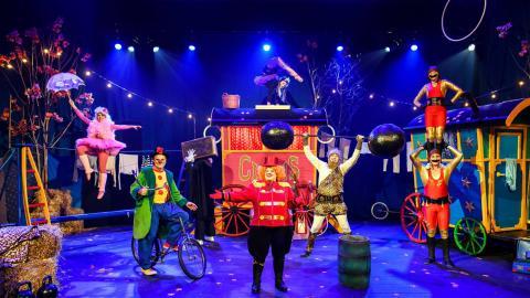 För tredje året i rad sätter Cirkus Elvira upp en föreställning med premiär i mellandagarna. Bild: Lia Jacobi