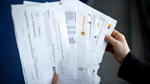 Antalet äldre som har skulder till Kronofogden ökar snabbt. Bild: Jessica Gow / TT