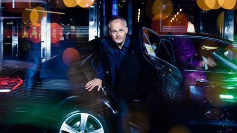 """Johan Rheborg i """"Säker på att jag är osäker"""".  Bild: Morgan Norman"""