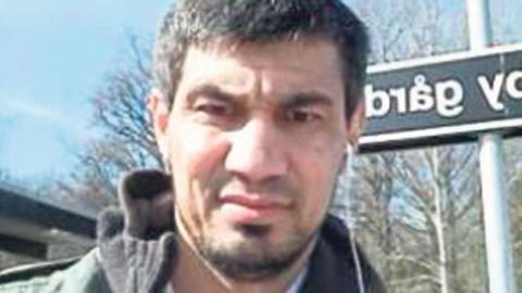 Bild på Rakhmat Akilov tagen med hans mobiltelefon 7 april. Bild: Polisen/TT