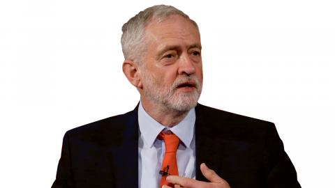 Labours partiledare Jeremy Corbyn.   Bild: Alastair Grant/AP