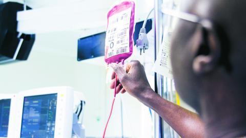 Magnetmodellen, som kritiseras av Gemensam välfärd Malmö, är utvecklad av sjuksköterskor som undersökt vilka förutsättningar som krävs för att sjuksköterskor ska vilja stanna i vården och kunna utvecklas professionellt. BILD: Isabell Höjman/TT