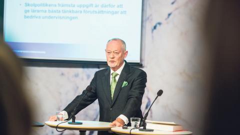 Leif Lewin, demokratiforskare.  Bild: Vilhelm Stokstad/TT