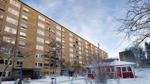 Lägenheter i Rannebergen, som varit på väg att säljas till Victoria Park. Foto: Martin Spaak