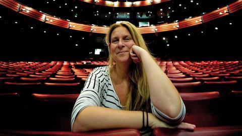 Anna-Lena Persson är Adriadne på Naxos.  Bild: Adam Ihse/TT