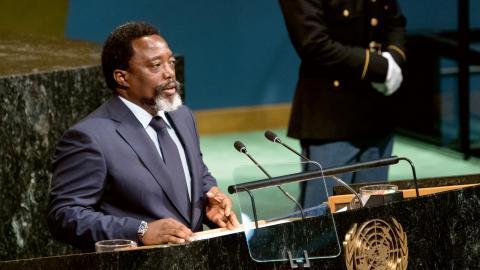 Joseph Kabila. Bild: Craig Ruttle/AP