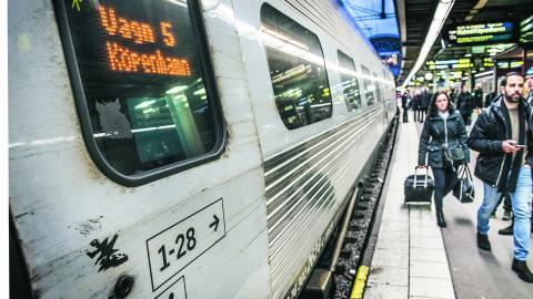 """""""Nidbilden av tåget har satt sig så djupt att man närmast blivit faktaresistent för hur det faktiskt förhåller sig"""", skriver Mattias Goldmann. Bild Tomas Oneborg/SvD/TT"""
