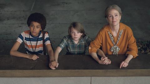 """Jaden Michael, Oakes Fegley och Julianne Moore i vackra  """"WonderStruck""""  Bild: Mary Cybulski/AP/TT"""