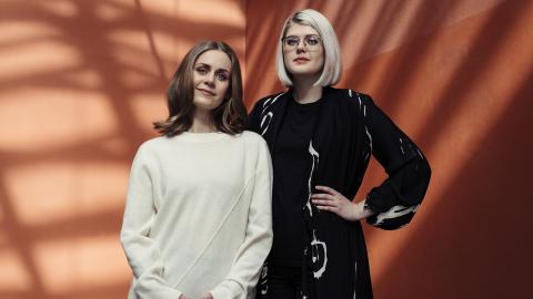 """""""Underbara underliv"""" är skriven av läkaren Nina Brochmann och läkarstudenten Ellen Støkken Dahl från Norge.  Bild: Anne Valeur"""