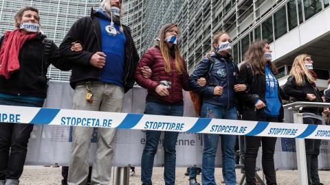 """""""Hur kan vi återta folkens rätt att styra Europa och Sverige?"""" undrar debattören. Foto: Geert Vanden Wijngaert/TT"""