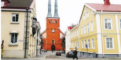"""""""I Växjö kommun sjönk andelen ekologisk mat mellan 2016 och 2017 och vi har idag cirka 35 procent ekologiskt"""", skriver debattören.  Bild: Janerik Henriksson/TT"""
