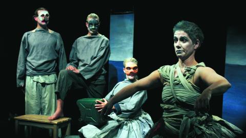 Flera av landets regionala teatrar medverkar med föreställningar under konventet. BILD: David Winnerstam