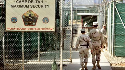 De första gångarna togs till Guantanamo 2002. Foto: Brennan Linsley
