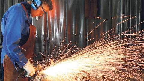 3,9 miljoner industriarbetare tillhör IG Metalls avtalsområde.  Bild: AP