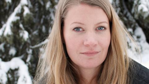 – Jag vill se en framtid där det är lättare att vara same och ha inflytande, säger Josefina Skerk, ledamot i Sametinget.  Bild: Liselott holm