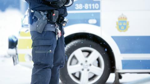 Väldigt få poliser fälls för brott i tjänsten. Av förra årets 8 700 anmälningar ledde bara 89 till fällande dom. Bild: Fredrik Sandberg/TT