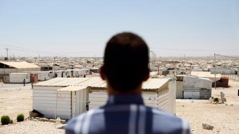 Många syrier som flytt till grannländerna lever utanför flyktinglägren. Bild: Henrik Montgomery/TT