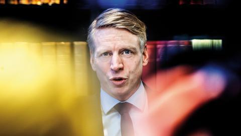 Finansmarknadsminister Per Bolund (MP). Bild: Tomas Oneborg/SvD/TT