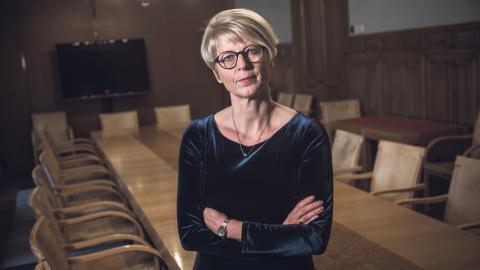 Elisabeth Svantesson, Moderaternas ekonomisk-politiska talesperson. Bild: Malin Hoelstad/SvD/TT