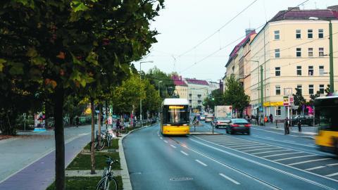 Fem tyska städer gör försök med gratis kollektivtrafik.  BILD Markus Schreiber/AP