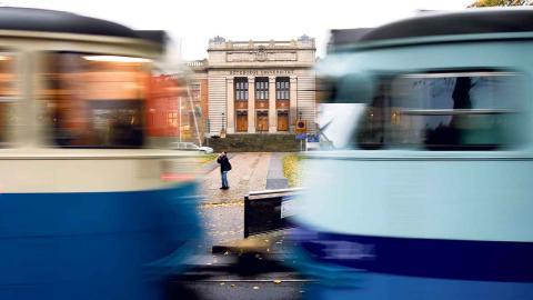 Göteborgs universitet hamnade 2016 på Naturvårdsverkets topplista över de statliga myndigheter som släpper ut mest koldioxid från flygresor som är längre än 50 mil. BILD: Johan Wingborg